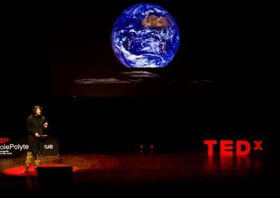Marc Buckley TEDx Ecole Polytechnique Lunar Orbiter 2015 Earthrise